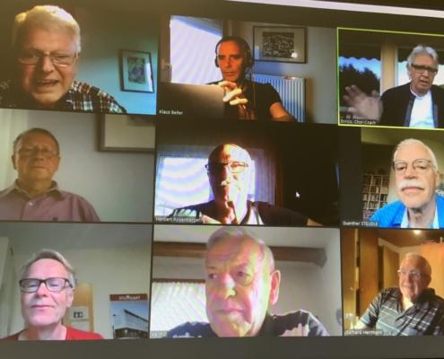 Liederkranz Kornwestheim - erstes virtuelles Sängertreffen